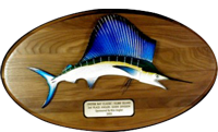 10x20 Solid Walnut Sailfish