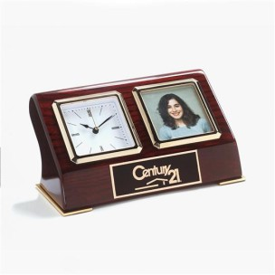 Desk Clock with Photo