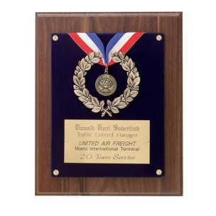 P1238-OB - Classic Achievement Medallion Plaque
