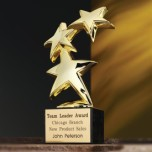 3832.19 - Constellation Award (Marble base)
