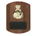 Money Bag Plaque