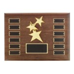 P1335 - Constellation Casting on Perpetual Hand Rubbed Walnut Plaque