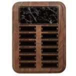 Black Onyx Perpetual Plaque