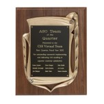 8278.19 Antique Bronze Openwork Frame Plaque