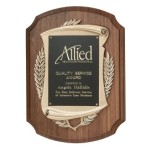 8326.19 Antique Bronze Cast Frame Plaque